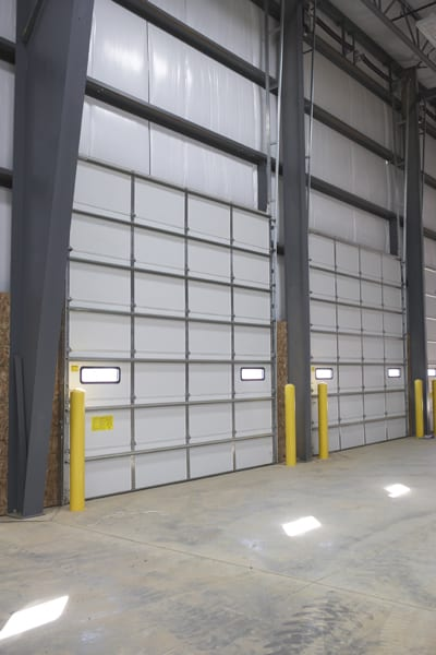 Commercial sectional doors allied overhead door
