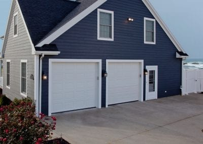 Flush Steel Garage Doors