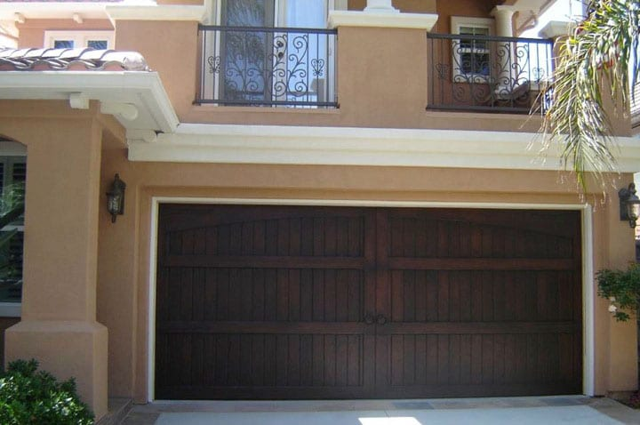 faux wood garage doors home depot custom door lowes composite cost