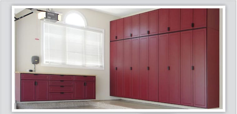 Garage cabinets allied overhead door nashville tn for Residential cabinets
